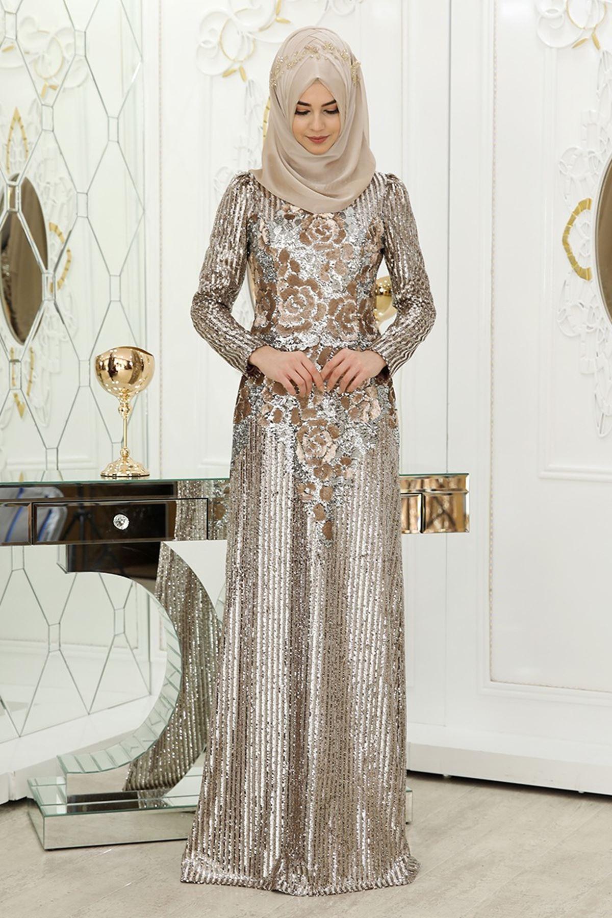Pınar Şems - Şahmeran Abiye Gold