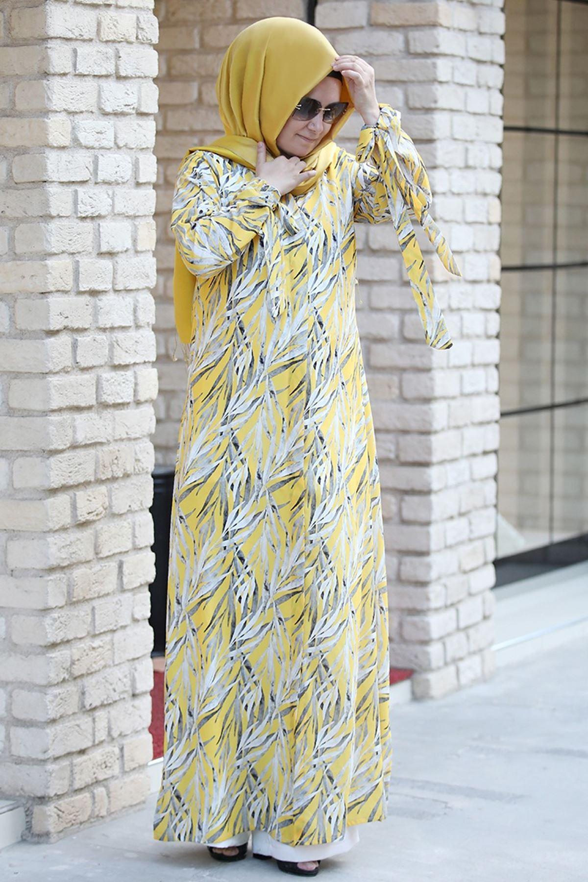 Pınar Şems - Açelya Ceket Sarı