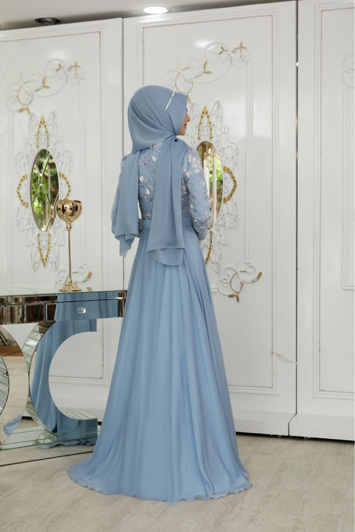 Pınar Şems - Çiğdem Abiye Mavi