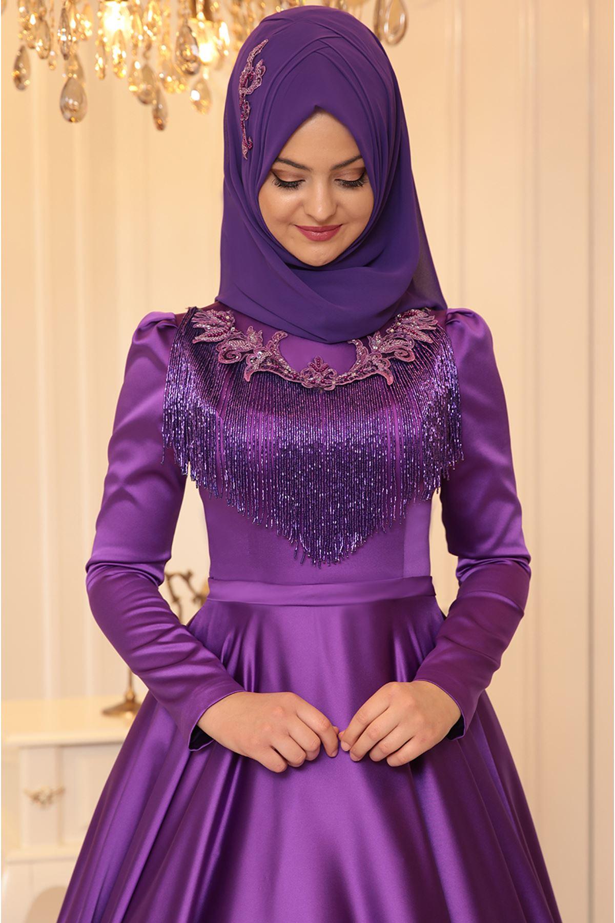 Pınar Şems - Eslem Abiye Mor