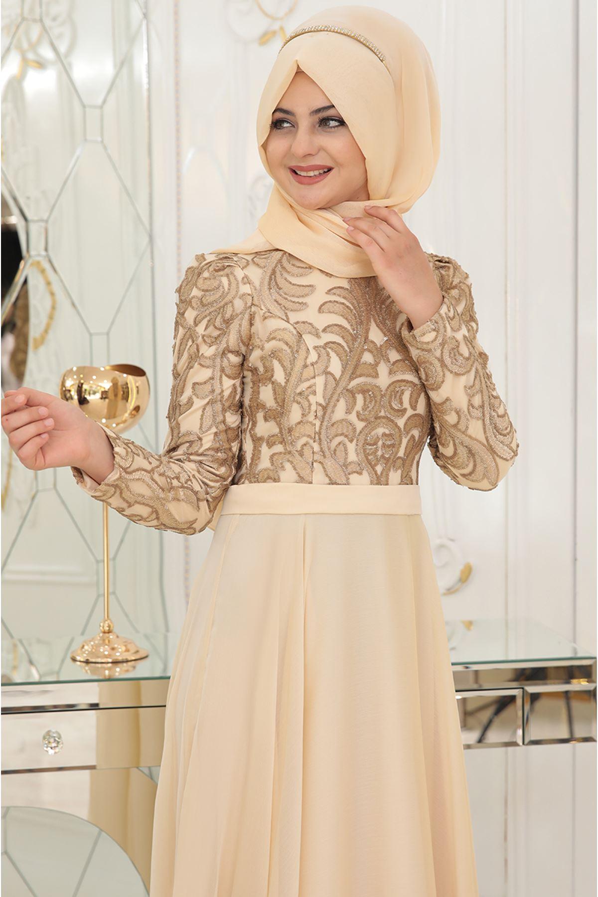 Pınar Şems - Ecrin Abiye Gold