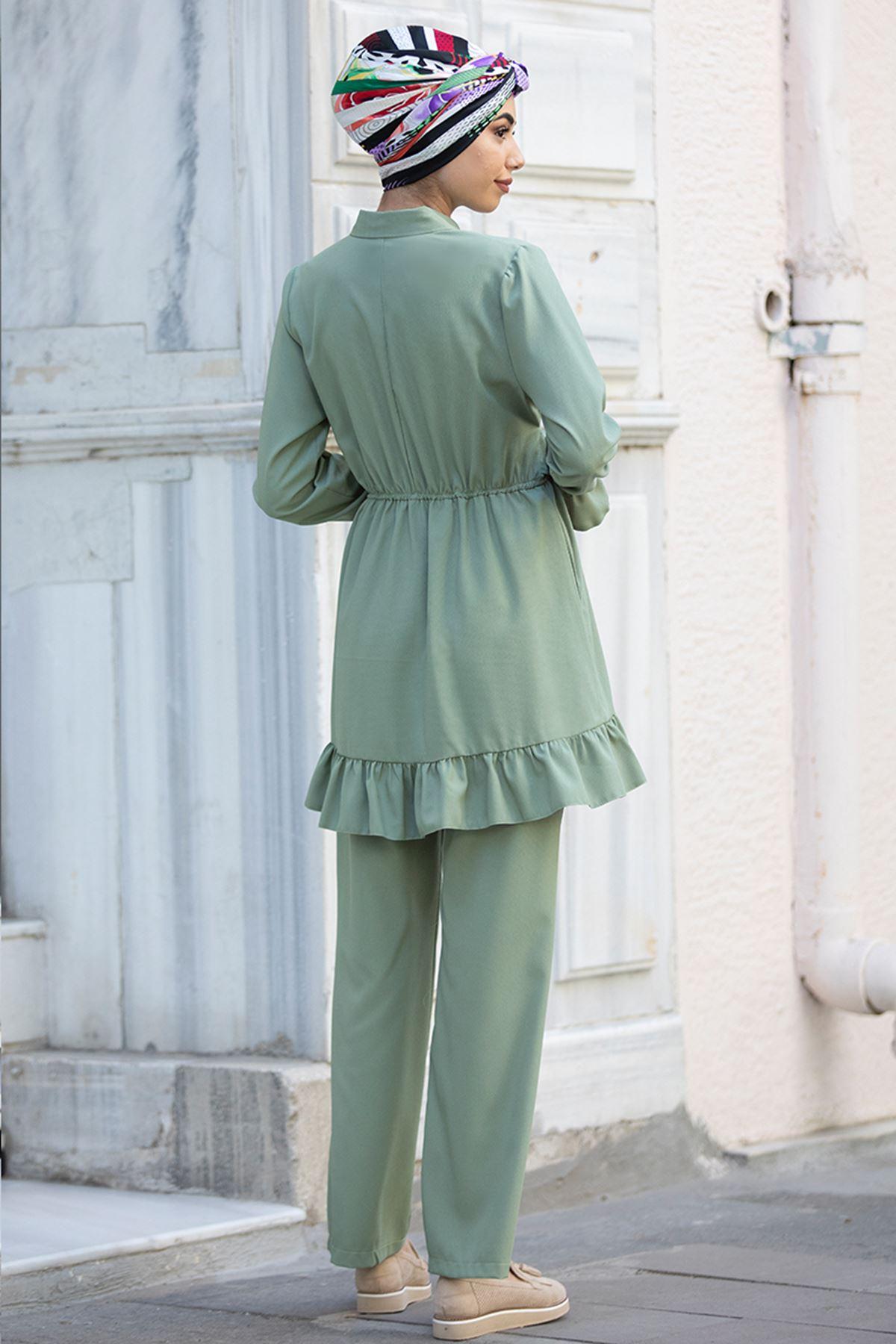 Minel İkili Takım Mint Yeşili  PİE1517