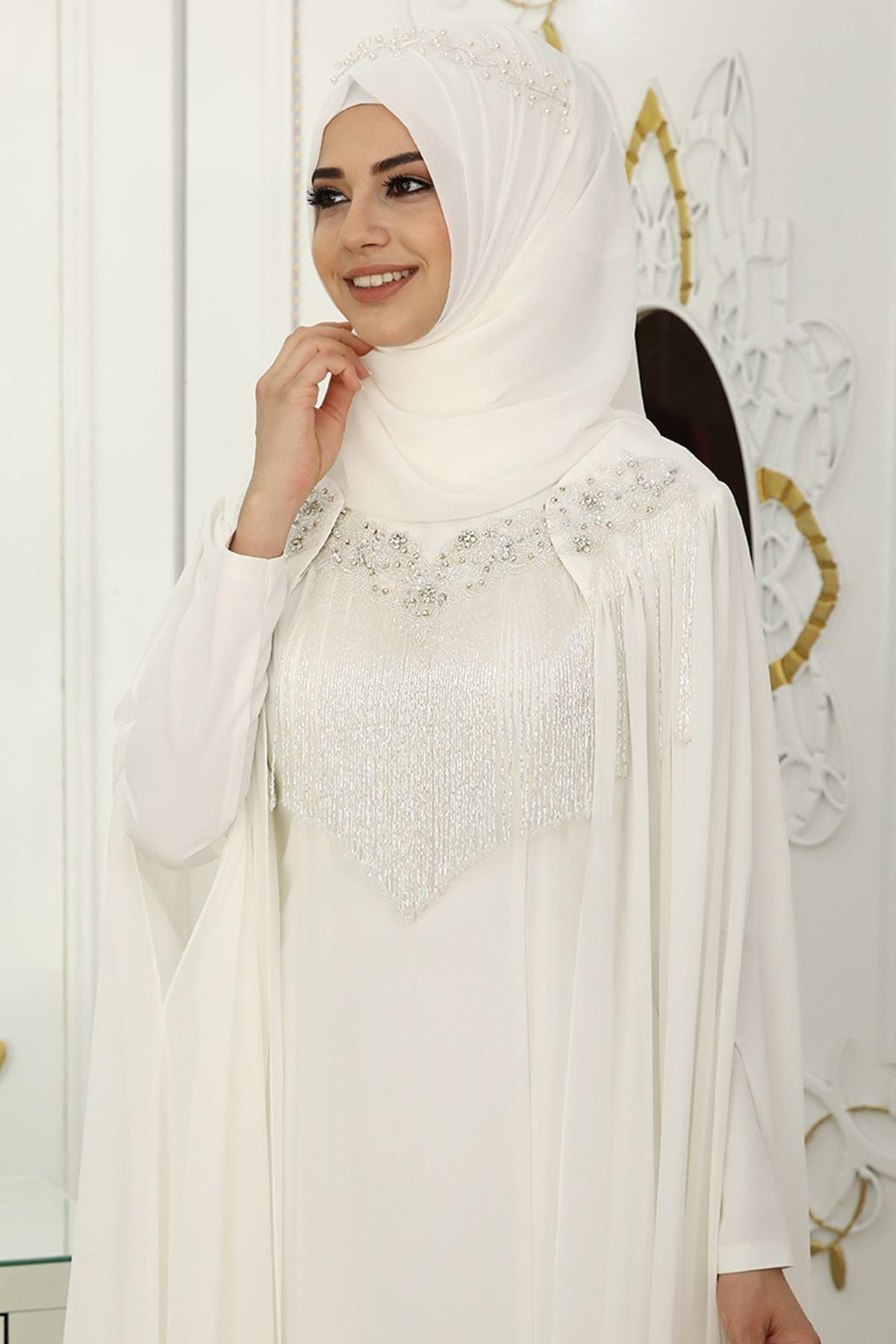 Pınar Şems - Asude Abiye Ekru