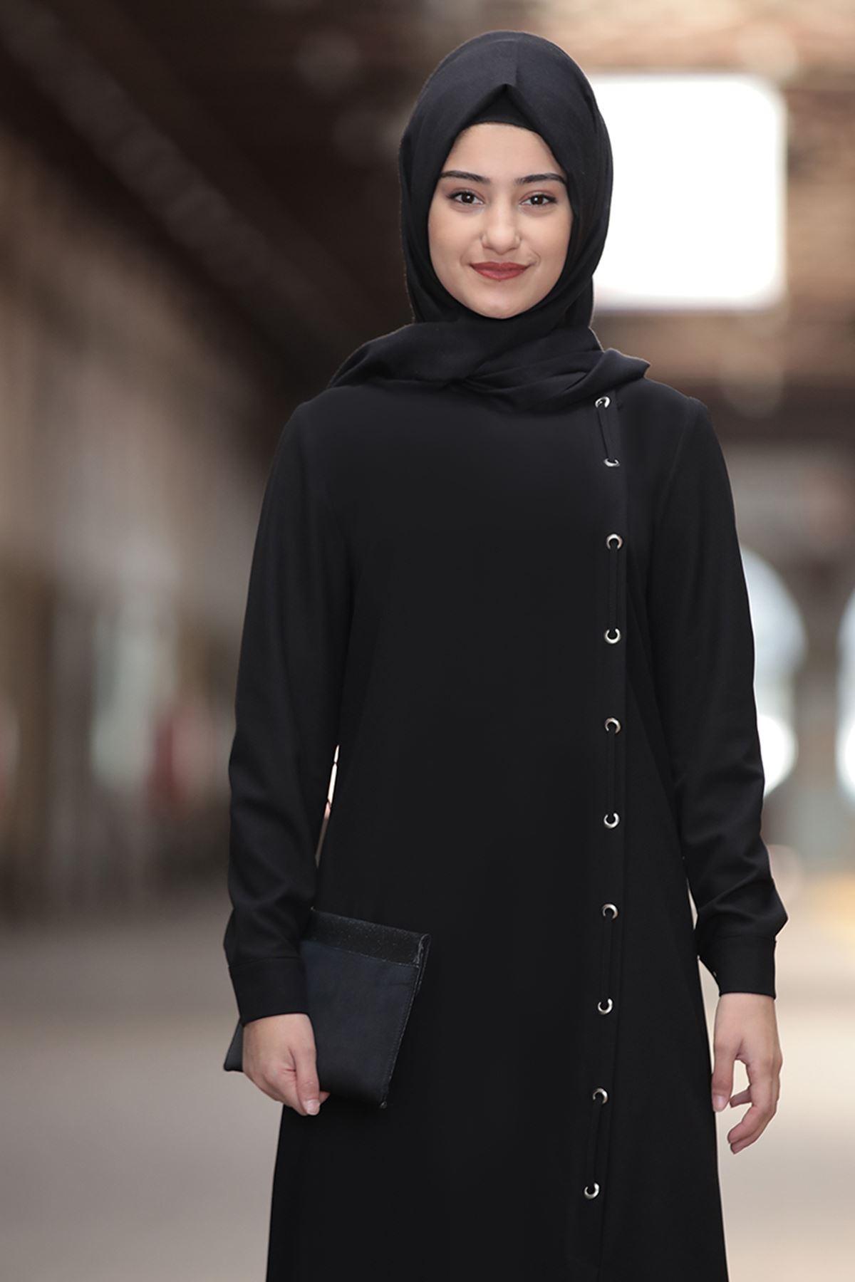 Rabeysa Rümeysa İkili Takım Siyah RAB8501