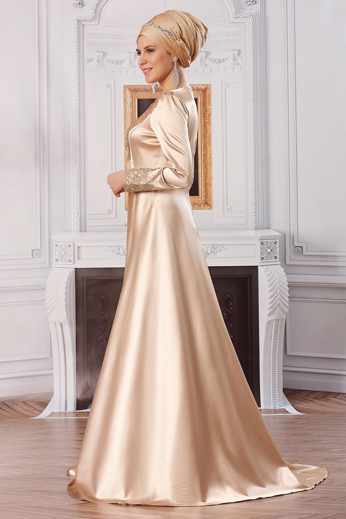 Fahrunnisa Aypare Abiye Gold FAH8000