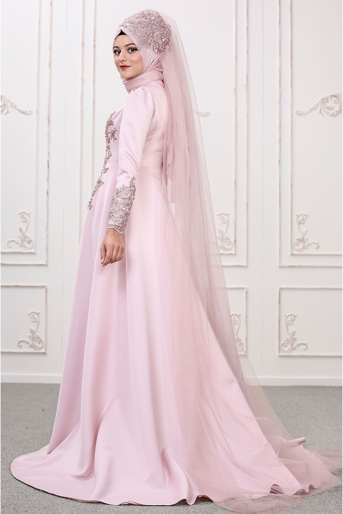 Som Fashion Lilyum Abiye Pudra SOM9511