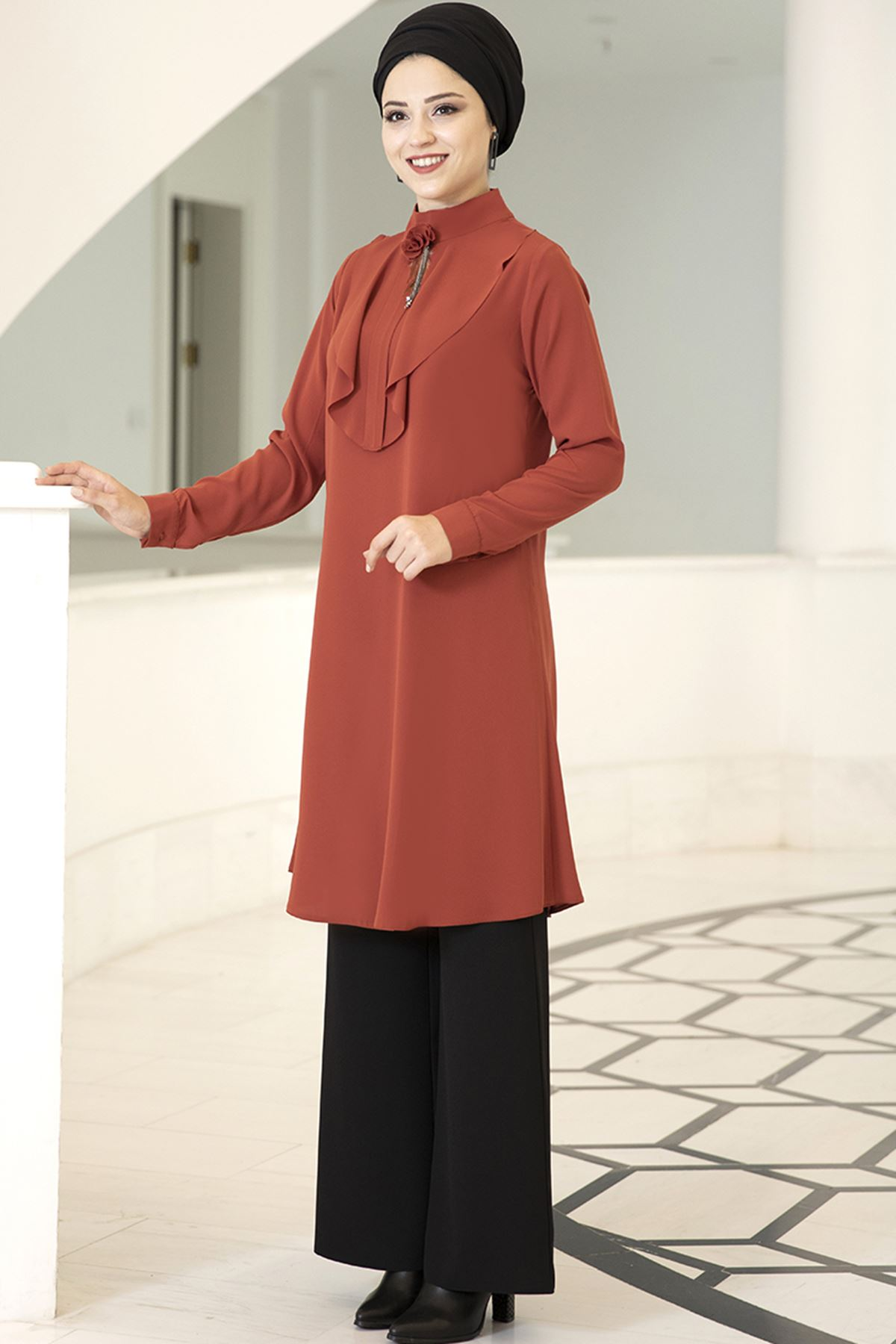 Dresslife Ekin Tunik Kiremit DRE2012