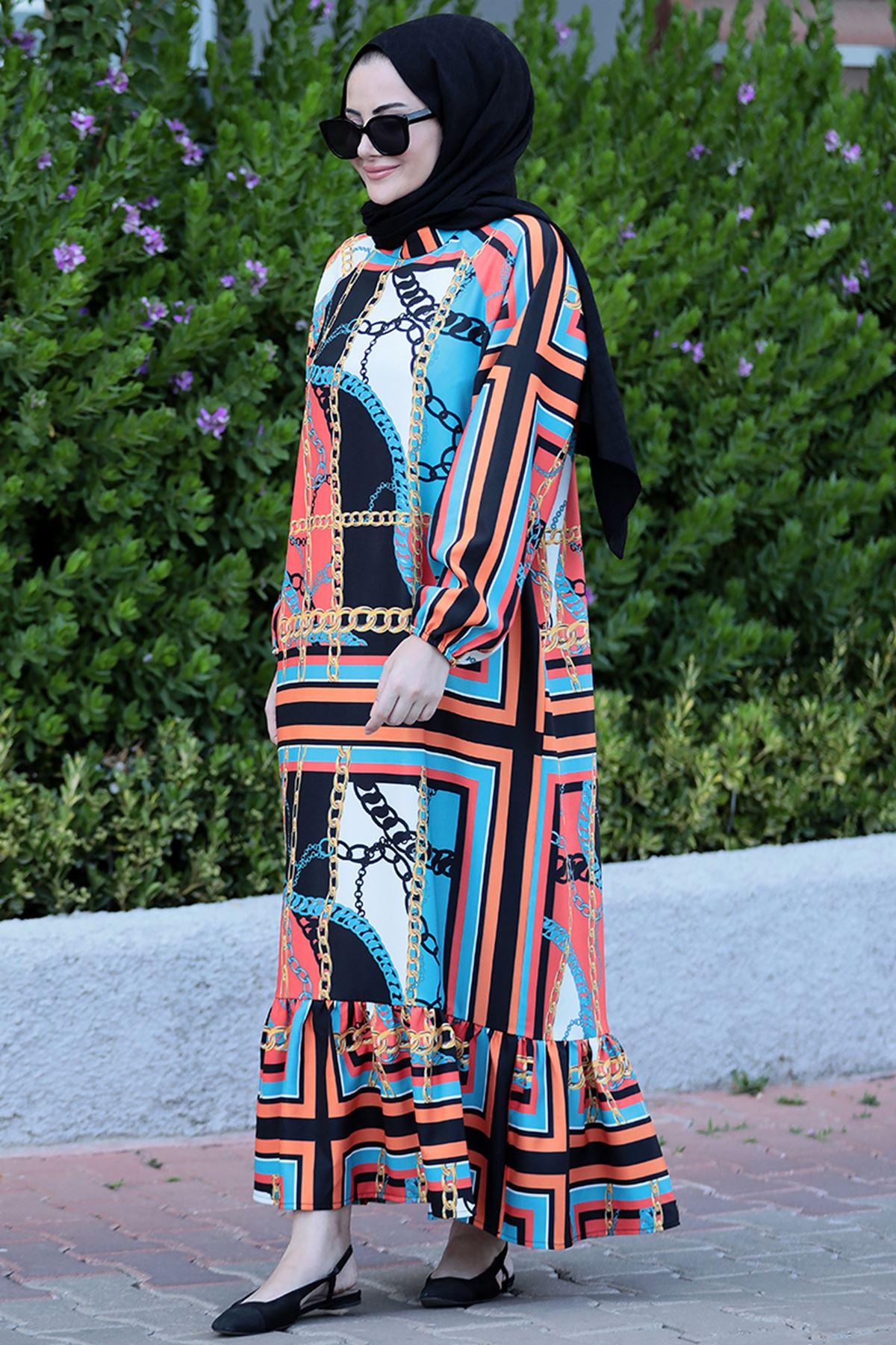 Seda Tiryaki  Yıldız Elbise  SED3700