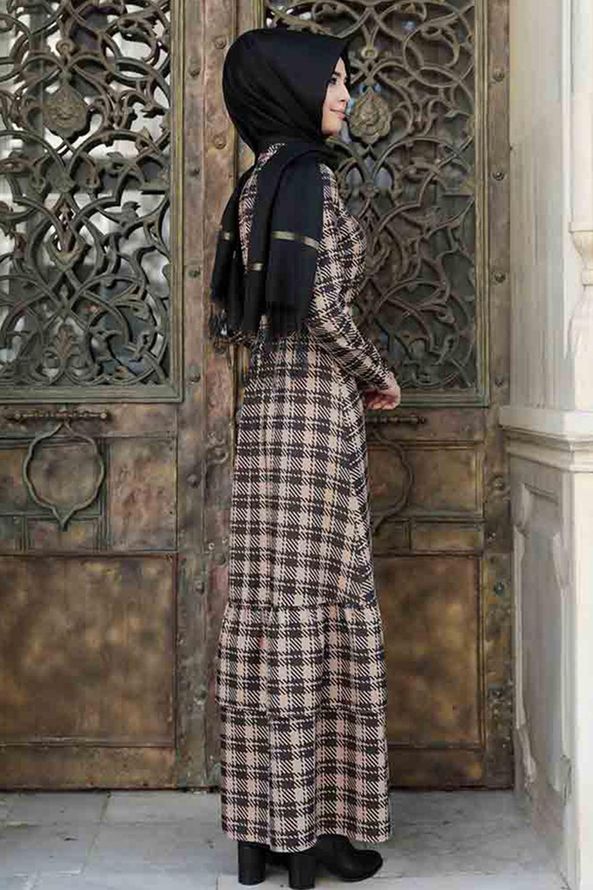 Pınar Şems Sima Elbise Siyah PNR6130