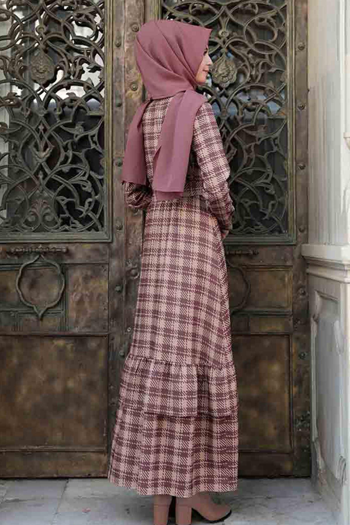 Pınar Şems Sima Elbise Lila PNR6130