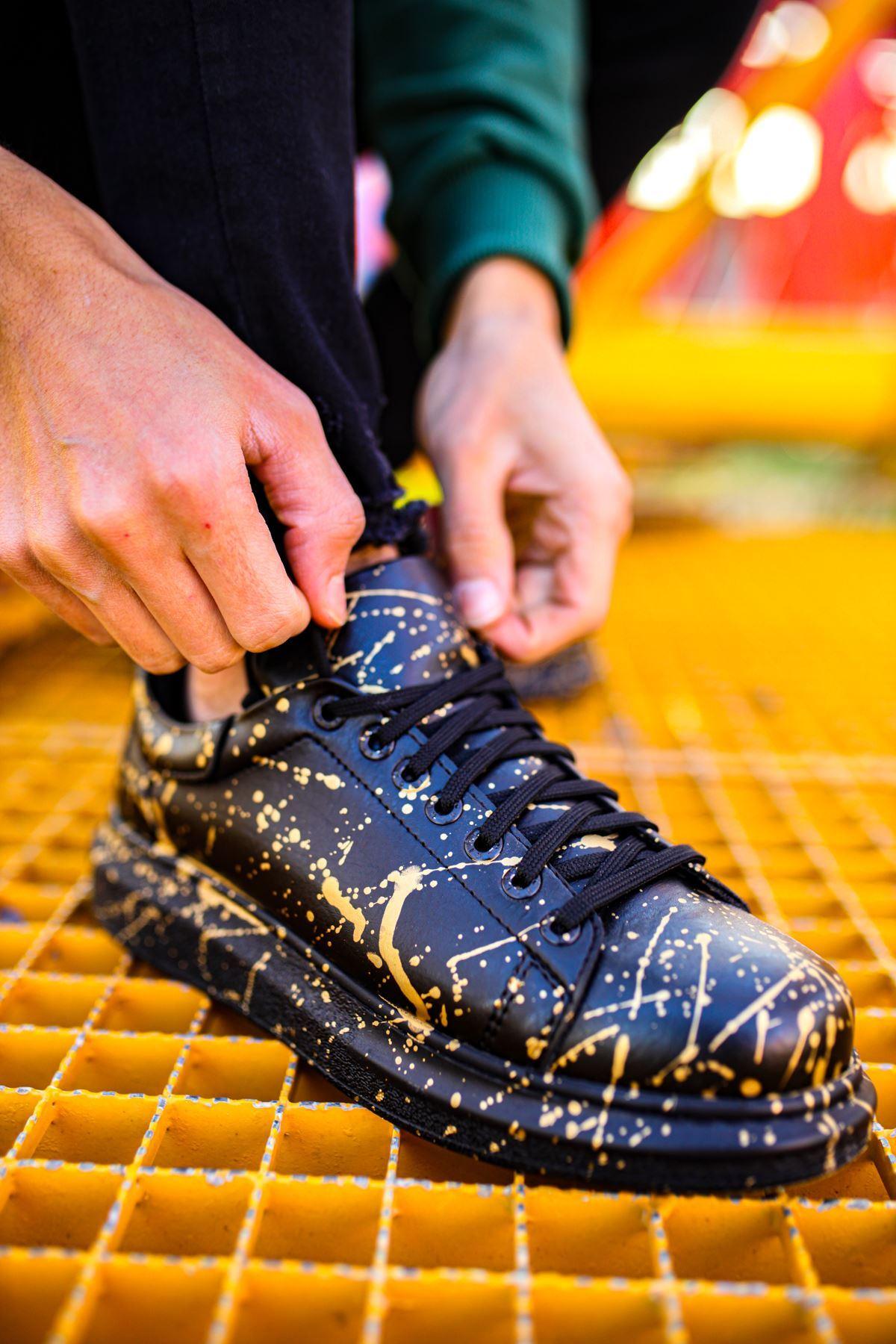 Chekich CH254 ST Erkek Ayakkabı 473 ALTIN SPLUSH