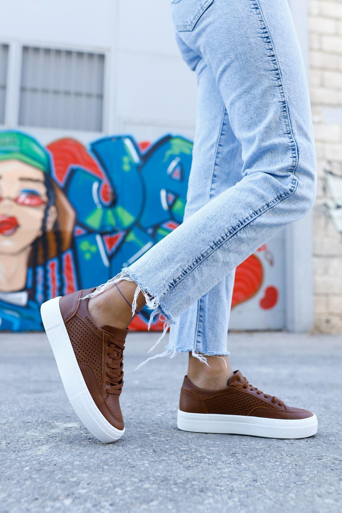 Chekich CH015 BT Kadın Ayakkabı TABA