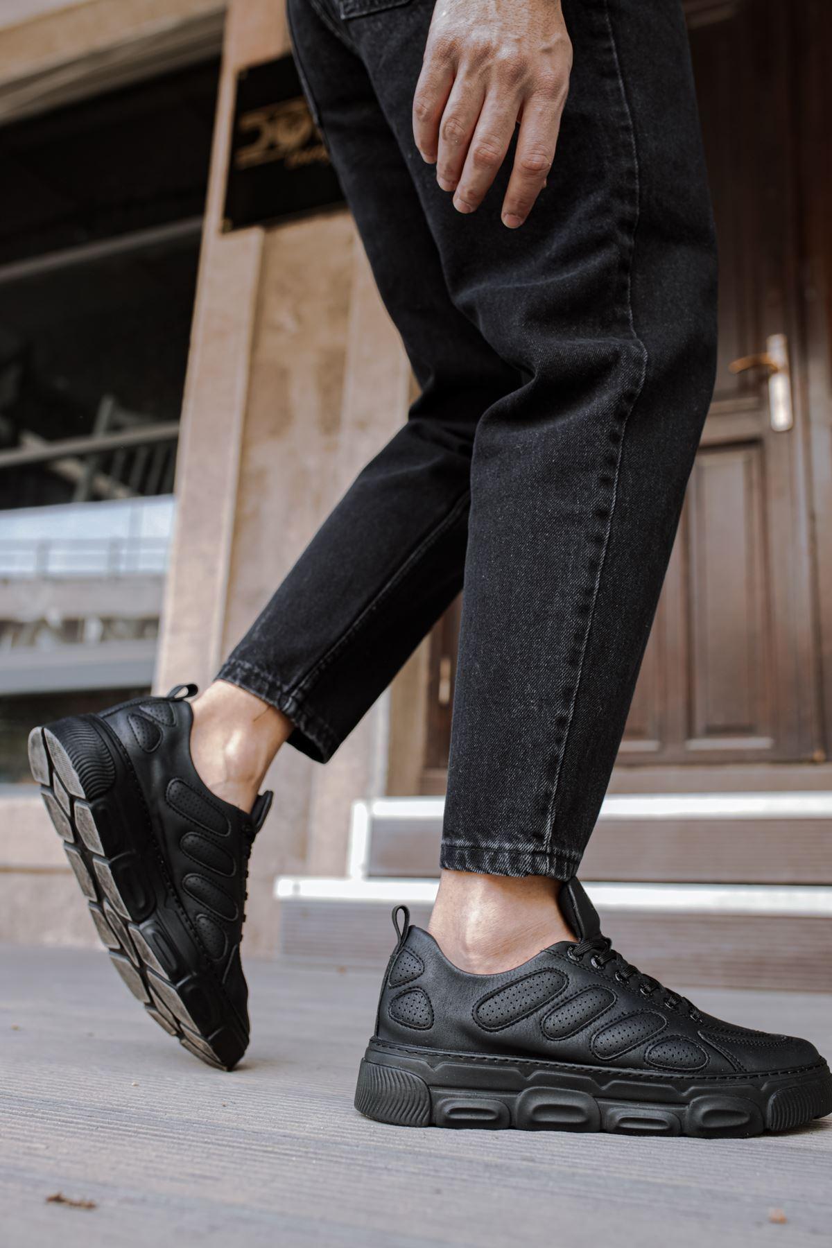 Chekich CH105 ST Erkek Ayakkabı SIYAH