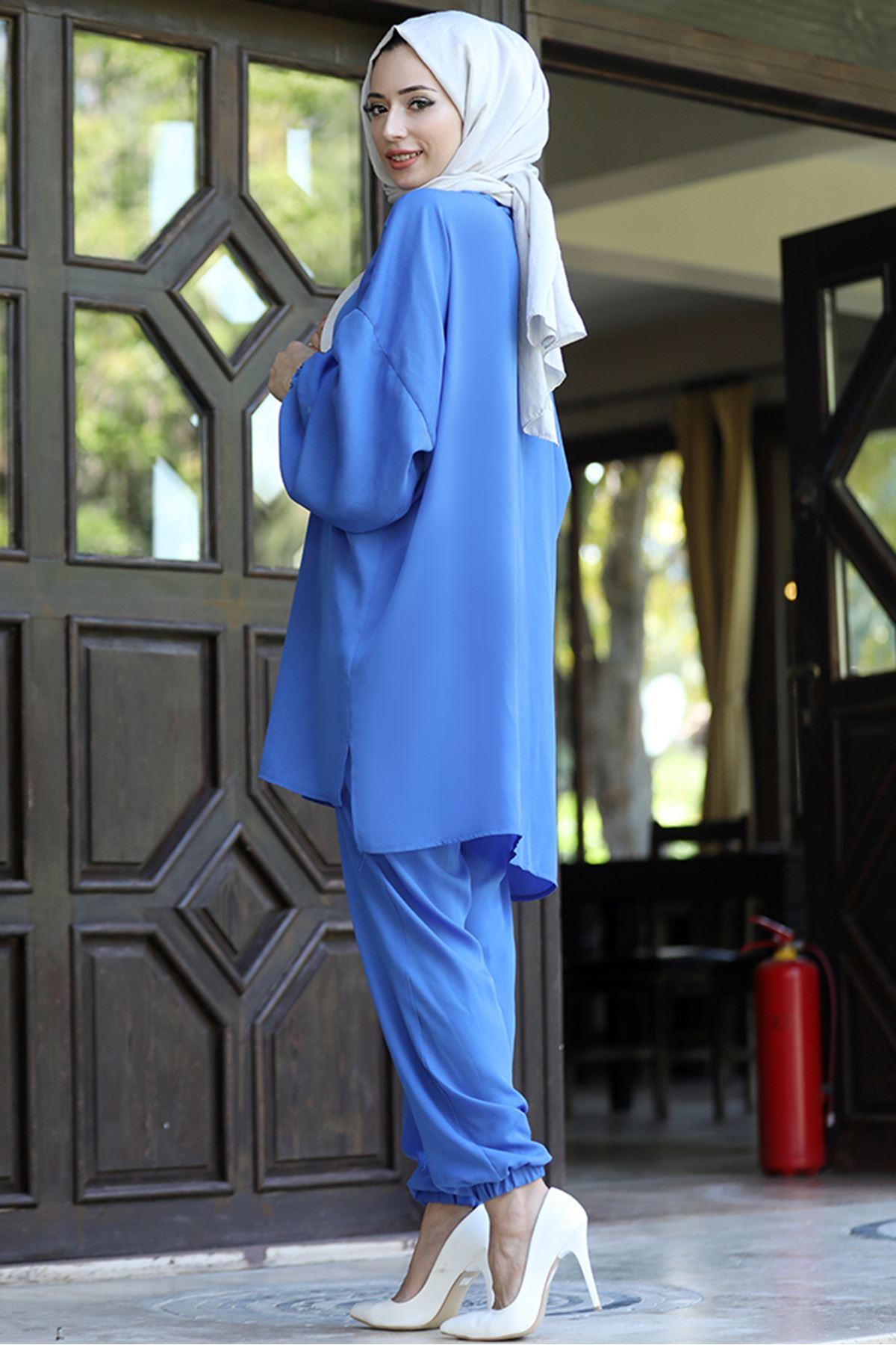Derin İkili Takım Mavi LEF4519