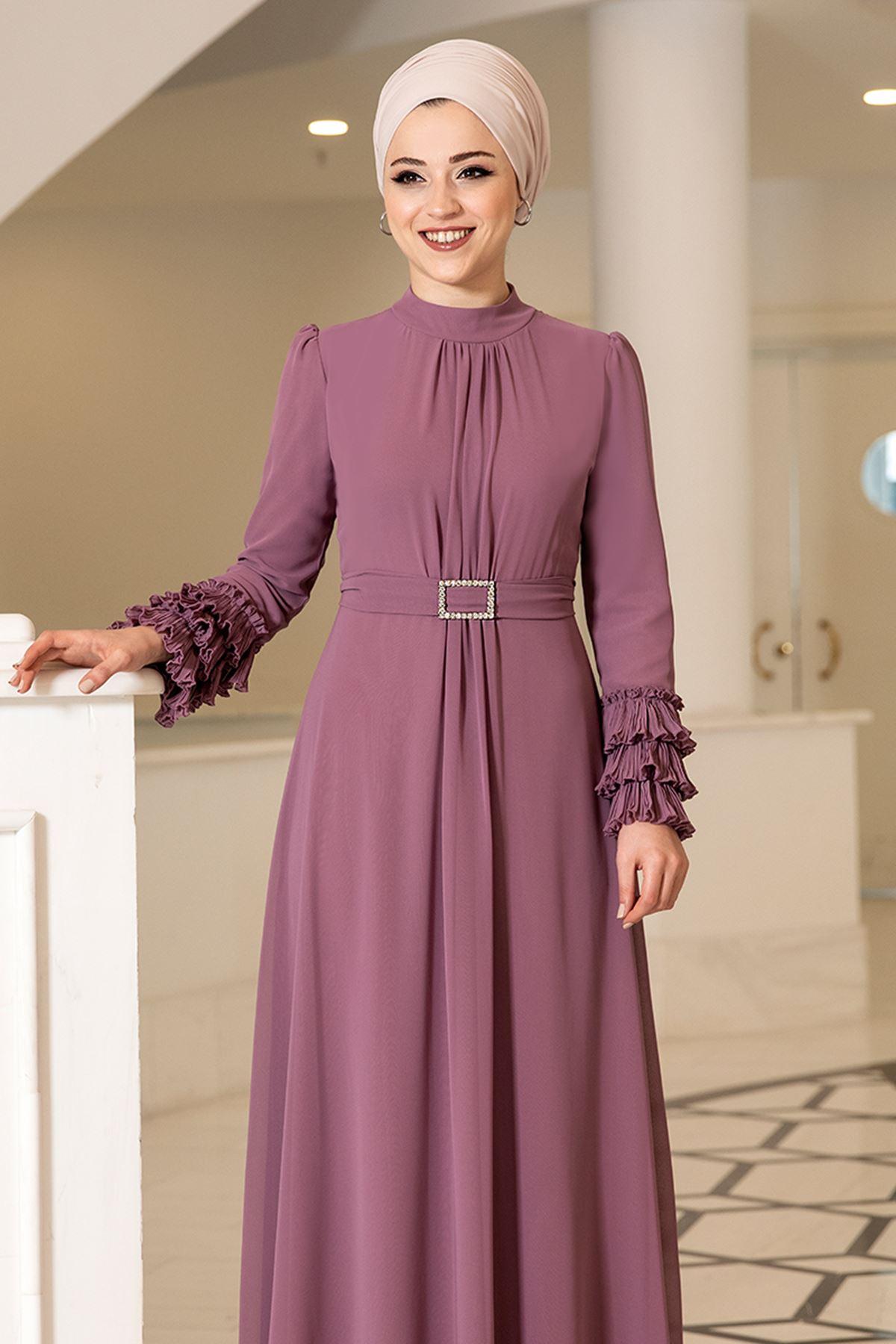 DressLife  Lina Elbise Gül Kurusu DRE2025