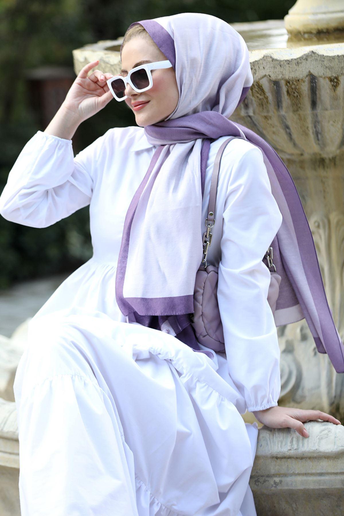 Seda Tiryaki Alaçatı Elbise Ekru SED3706