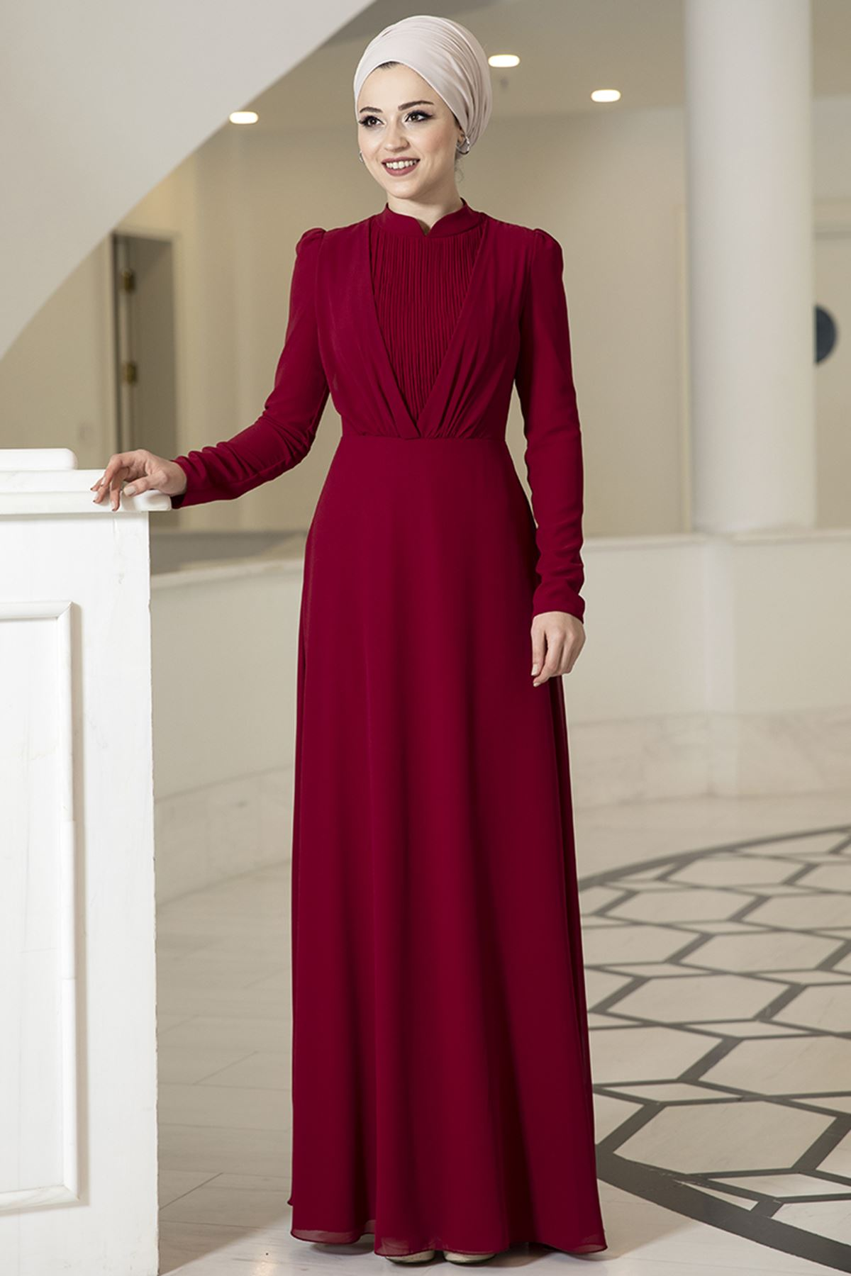 DressLife  Özüm Elbise Bordo DRE2030