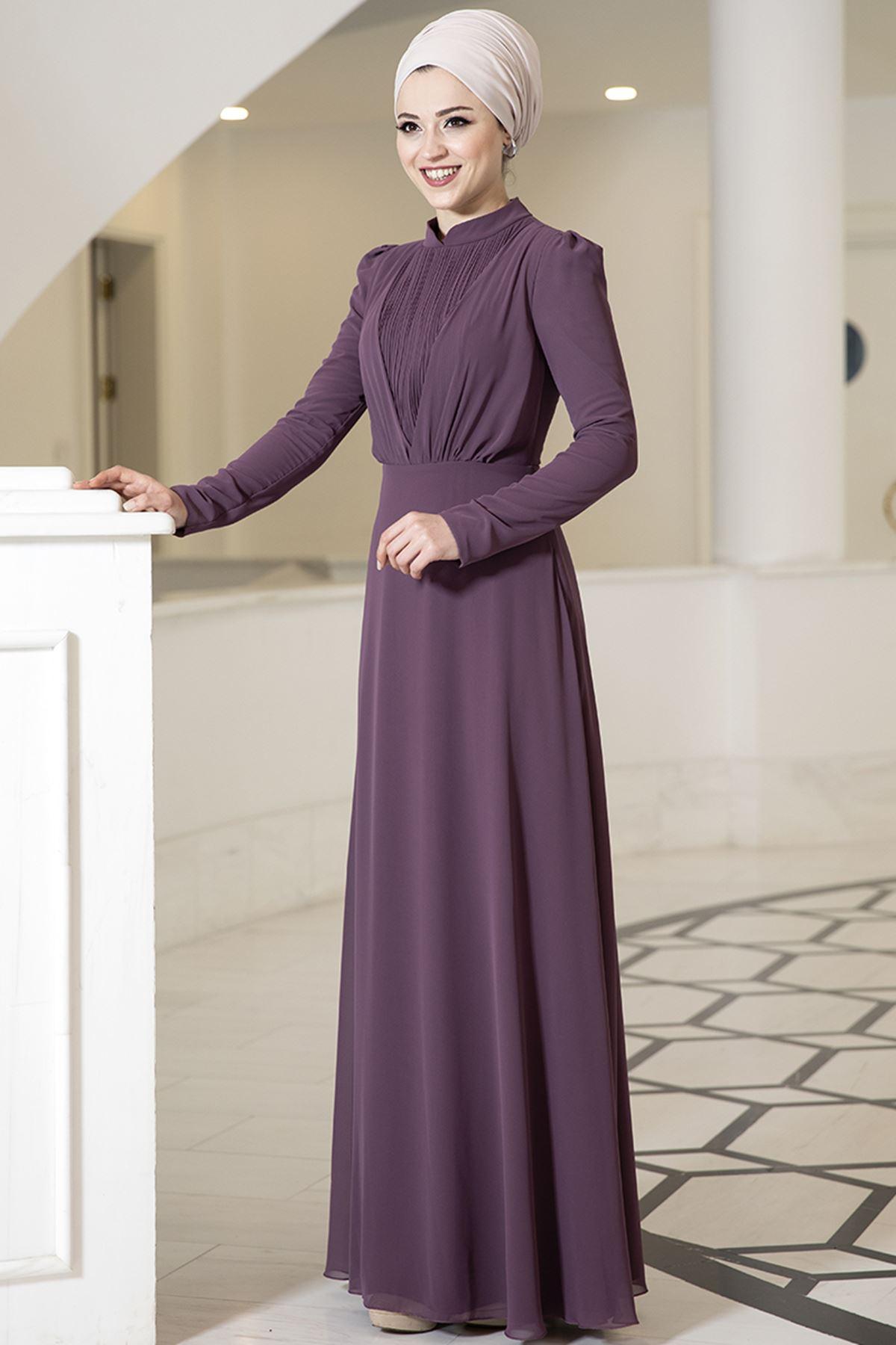 DressLife  Özüm Elbise Mor DRE2030