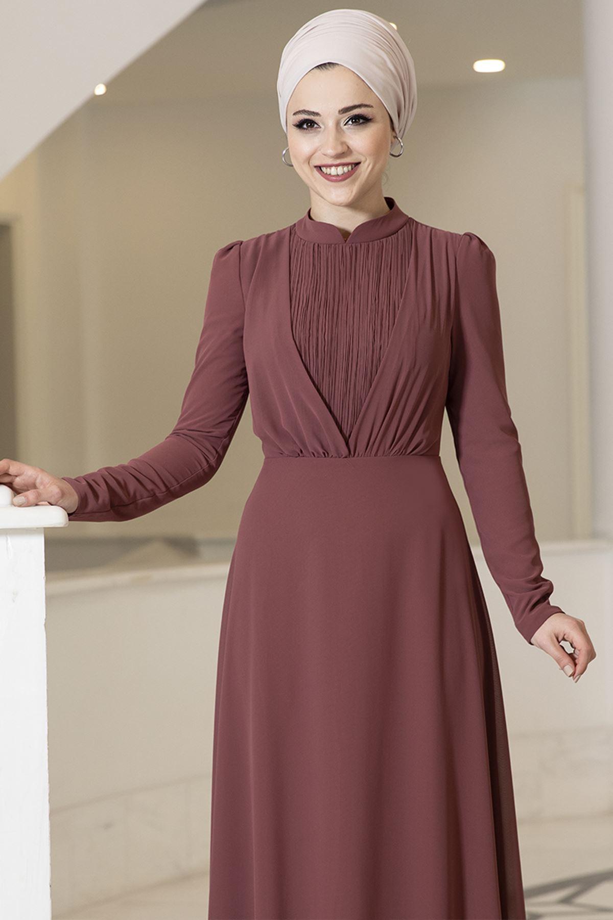 DressLife  Özüm Elbise Tarçın DRE2030
