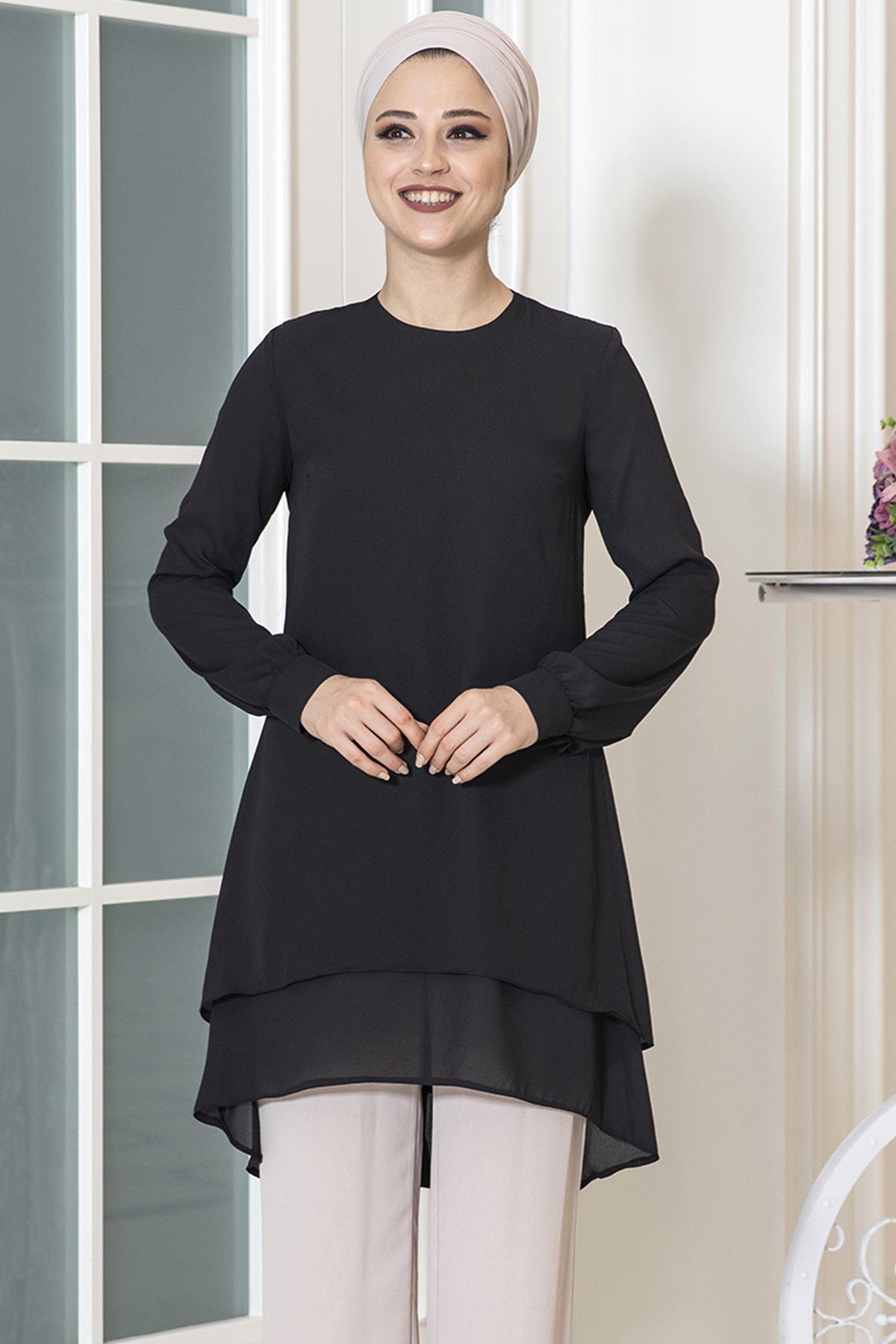 Dresslife Hira Tunik Siyah DRE2016