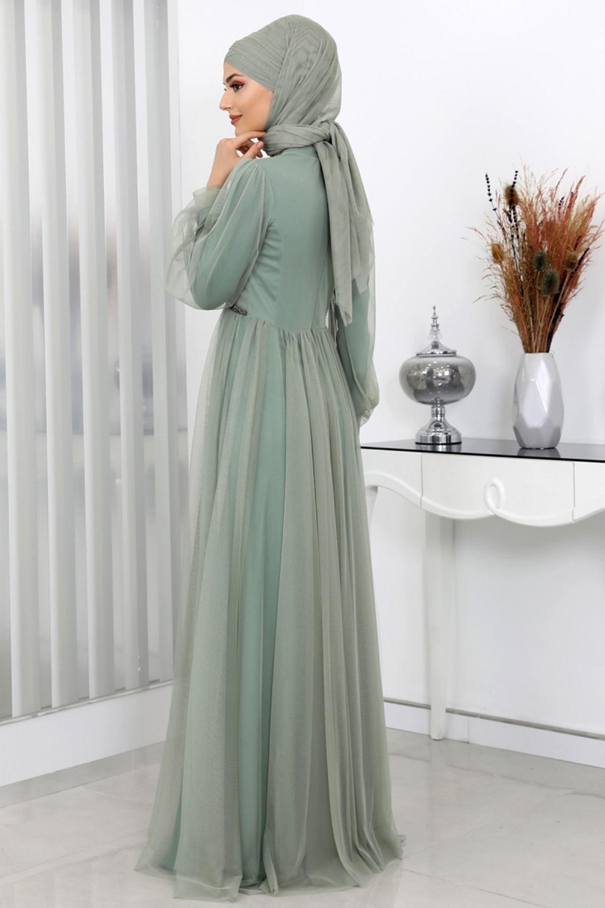 Surikka Aysima Abiye Çağla Yeşili SUR5521