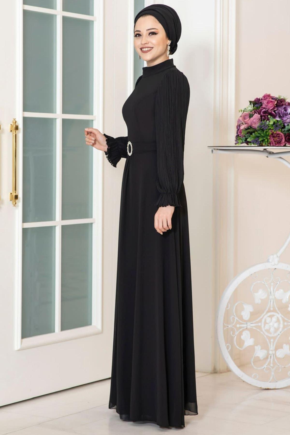 Dresslife Defne Elbise Siyah DRE2031