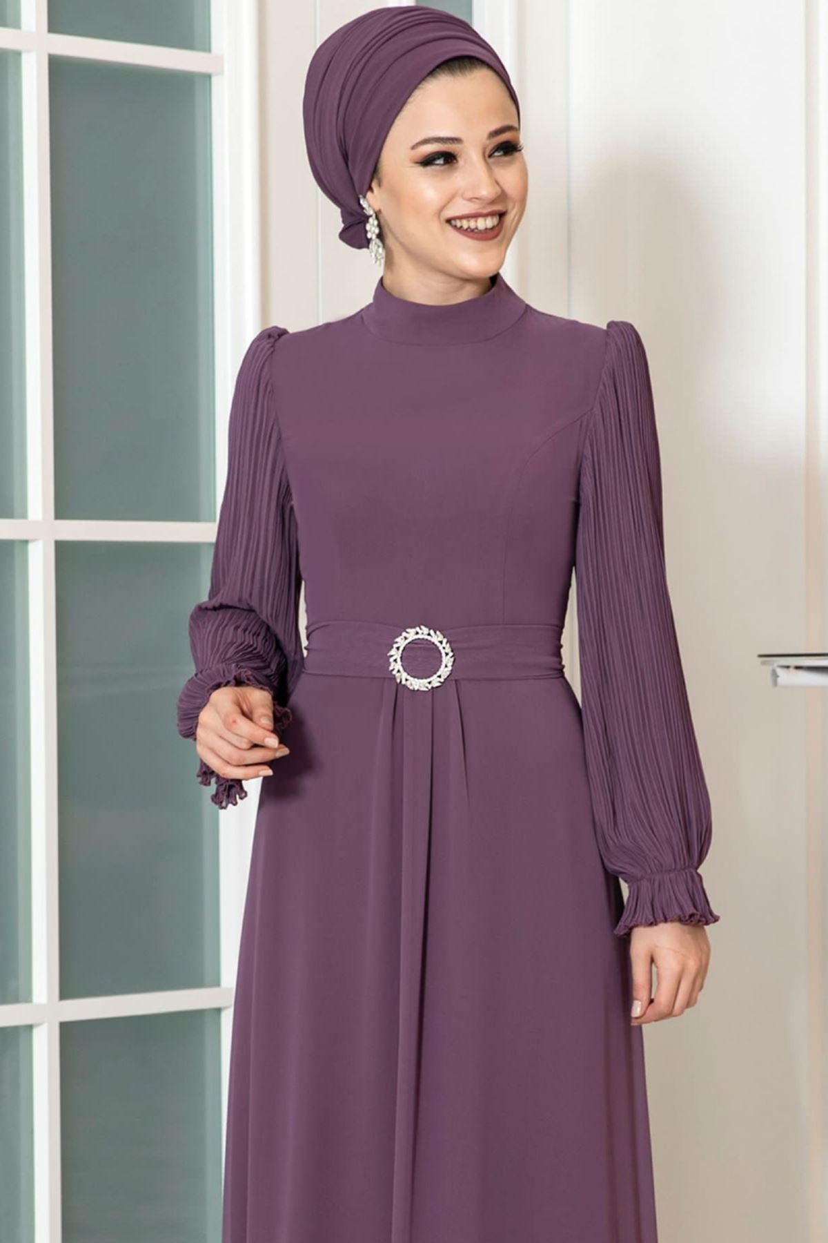 Dresslife Defne Elbise Leylak DRE2031