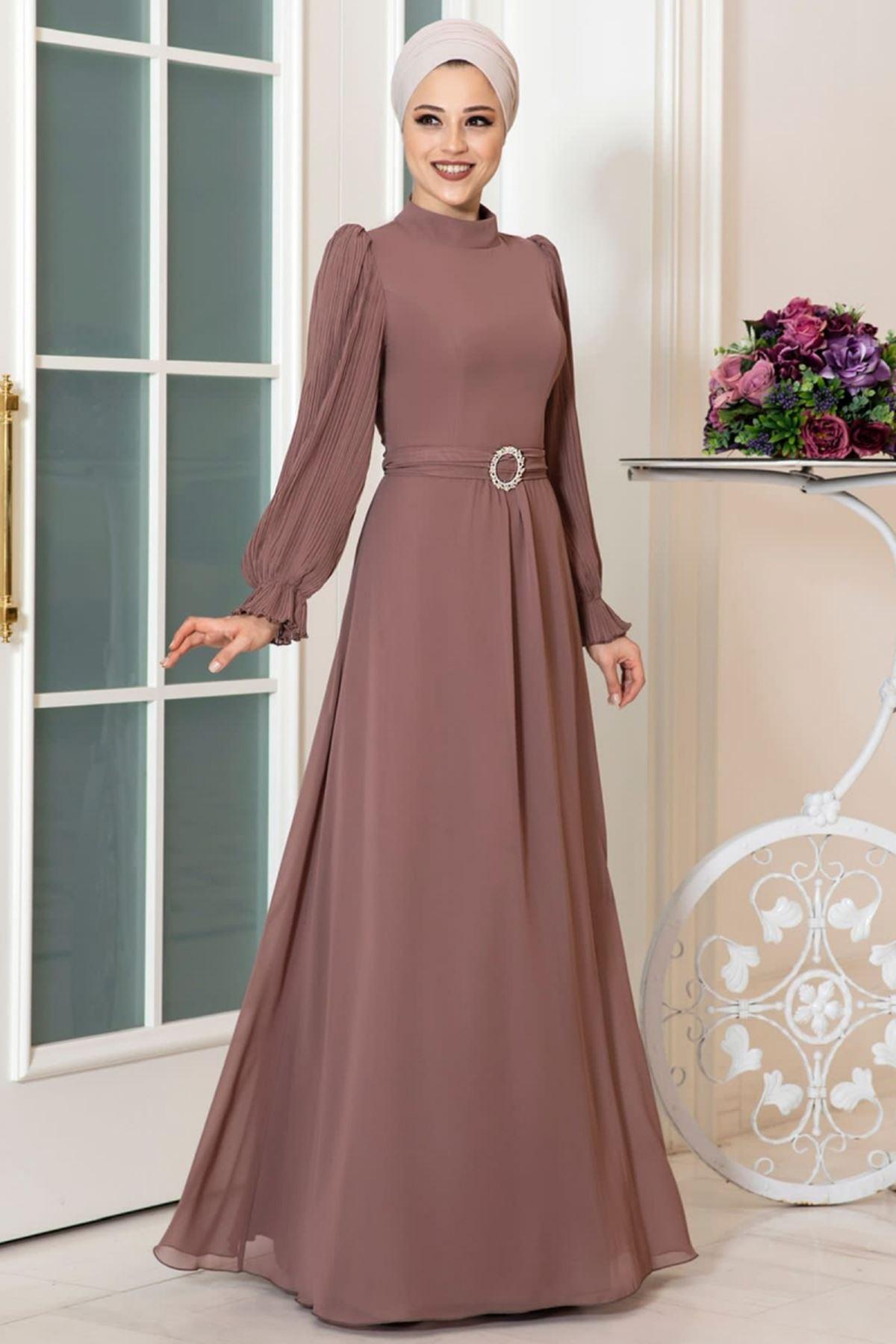 Dresslife Defne Elbise Vizon DRE2031