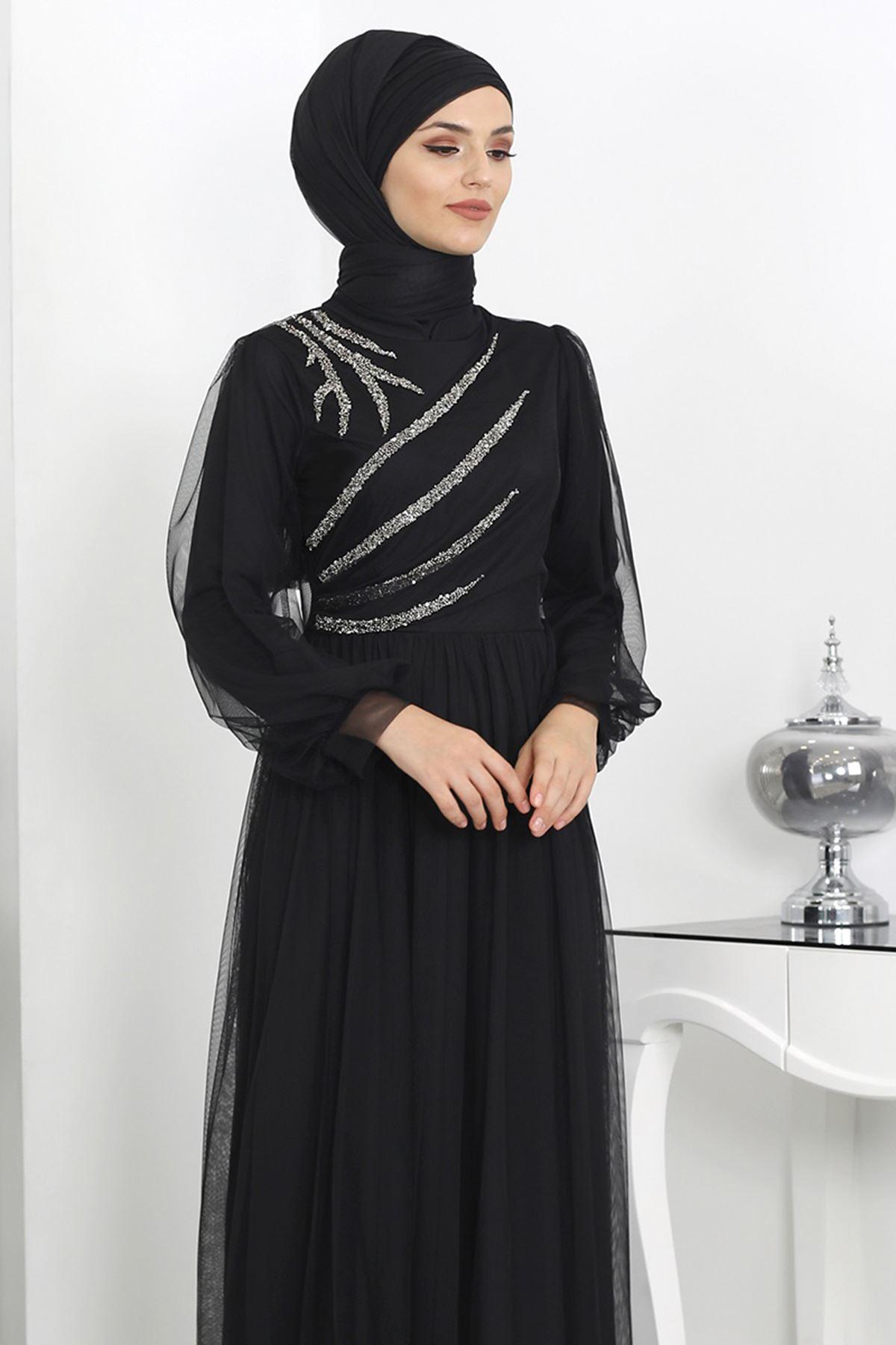 Surikka Merva Abiye Siyah SUR5524