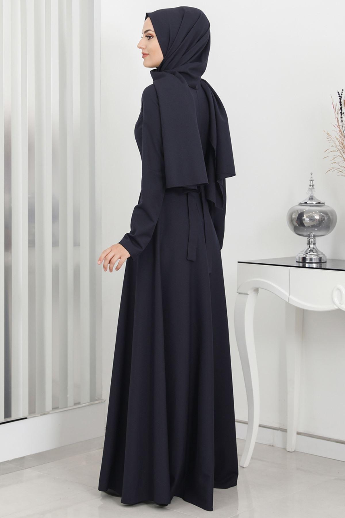 Surikka Hilal Abiye Siyah SUR5526
