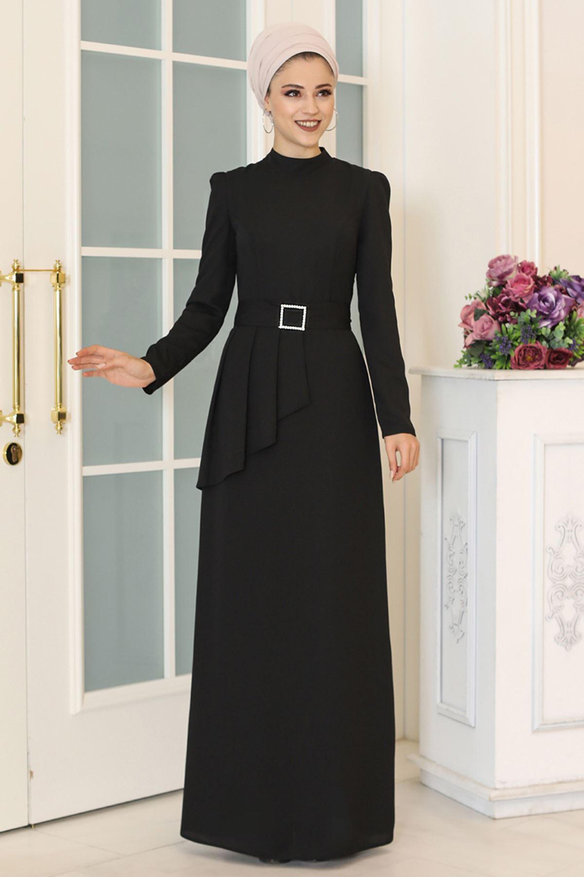 DressLife  Ceyda Elbise Siyah DRE2032