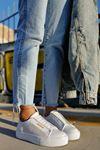 Chekich CH011 BT Kadın Ayakkabı BEYAZ