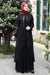 Emsale Aydan Abiye Siyah EMS8324